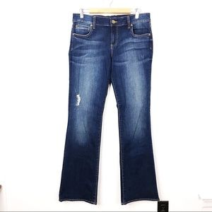 Kut From The Kloth Jeans Natalie High Rise Sz 12